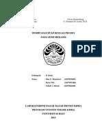 238489956 Pembuatan Pulp Dengan Proses Soda Semi Mekanis