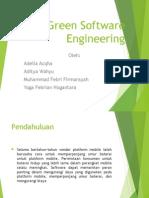 Green Software Engineering (Kelompok 1)