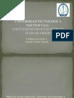 Antonio Ceron - Metabolismo de Los Fármacos Fase I Reacción Oxido Reducción, Sistemas Microsomales y Extramicrosomales