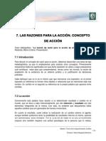 Lectura 4 - Razones Para La Acción, Explicativas y Justificatorias. Argumento Práctico