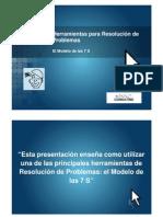 Herramientas Para Resolución de Problemas - El Modelo de Las 7S