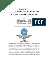Referat Retentio Placenta