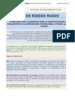 Matriz de Identificacion de Riesgo Por Exposición a Ruido Efectuada Por La Empresa_V 2015Ene
