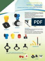 Technova Spray Nozzles Brochure 2015