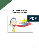 Programa Inicial de Intervencion en Dislalias