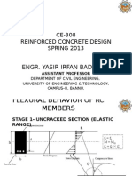 Flexural Behavior of RC Members