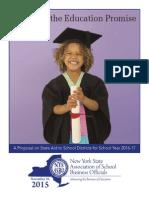 NYSASBO 2016-17 Budget Proposal