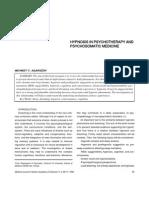 Agargun-Hypnosis Psychotherapy Psychosomatic Medicine