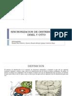 Sincronizacion de Distribucion de Disel y Otto