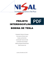 Relatório - Bobina de Tesla