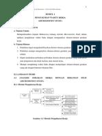 Praktek Analisis Perancangan Kerja II Materi 1