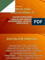 PSICOLOGIA EDUCATIVA III
