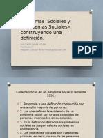 Problemas Sociales Definición