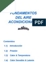 Fundamentos del aire acondicionado