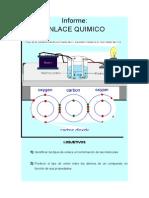 INFORME ENLACE QUIMICO