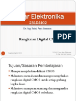Dasar Elektronika - CMOS Digital