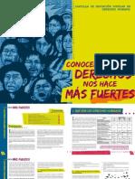Conocer Nuestros Derechos Nos Hace Más Fuertes. DDHH Marcha Patriótica Valle Del Cauca
