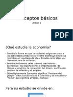 Conceptos básicos de economia