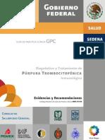Purpura Trombocitopenica Inmunológica