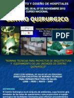 diseño centro quirurgico