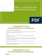 Unidad 2 Las Presonas y Las Bases Del Comportamiento Individual (1)