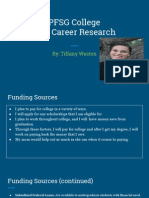 pfsg college  and career research
