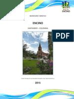 Inventario Turistico Municipio de Encino