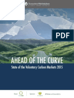 State of Voluntary Carbon Markets 2015