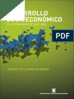 Desarrollo socioeconómico de la provincia de San Juan. Impacto de la mina Veladero.