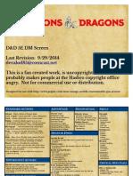 D&D 5e DM Screen Color