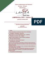 LAMPEA-Doc 2015 – numéro 35 / Lundi 30 novembre 2015