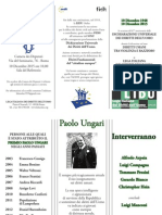 Locandina Premio Ungari