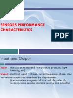 Sensor - Week 02 - Sensor Characteristic