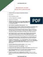 KPSS Tarih Ders Notları - TÜRK KÜLTÜRÜ VE MEDENİYETLERİ