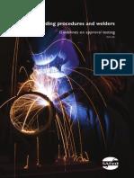 Welding Procedures and Welders WG01 7th November 2012