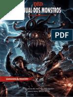 Manual Dos Monstros D&D 5ed (Ilustrado)