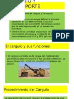 Presentación Carguío y Transporte
