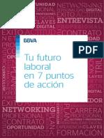 Tu futuro laboral en 7 punto de acción
