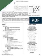 Ayuda_Uso de TeX - Wikipedia, La Enciclopedia Libre