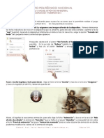 """Tutorial que te lleva de la mano para crear un juego en PowerPoint llamado"""" Laberinto"""", Prof. Carlos Montiel, IPN"""
