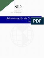 Administración de ccompras e inventarios.