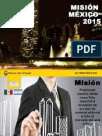 Misión D.F, México 2015