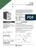 Phase failure relay