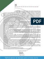 Carta - Autarquicas Alvalade 2009