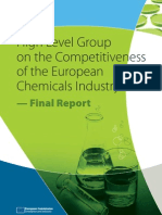 High Level Group on the Competitiveness of the European Chemicals Industry — Final Report