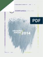 Memoria Anual 2014 Confianza Online.pdf