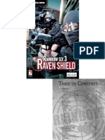 Rainbow Six 3 - Raven Shield - Manual - PC