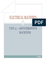 Unit 4 - Asynchronous Machines