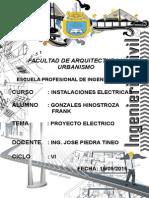 Informe de Instalaciones Electricas