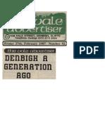 Denbigh a generation ago.